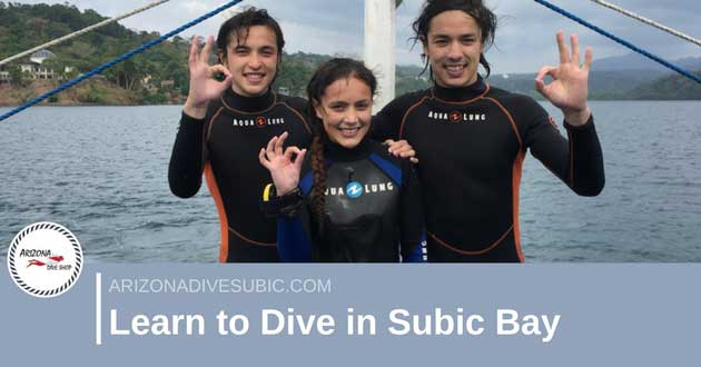 Learn to Dive in Subic Bay