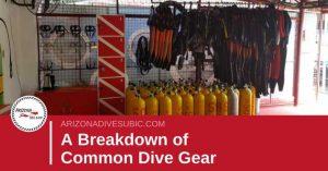 common-dive-gear