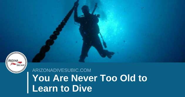 You Are Never Too Old to Learn to Dive