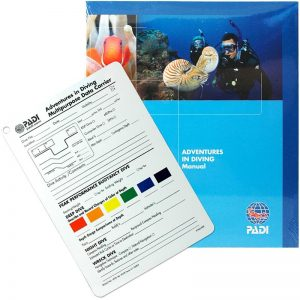 PADI Advanced Open Water Manual - Adventures in Diving Manual