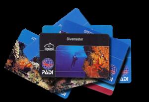 PADI Divemaster Card
