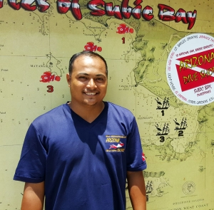 Arizona Dive Shop Team Subic Bay Scuba Diver Leonardo S. Del Rosario Jr.