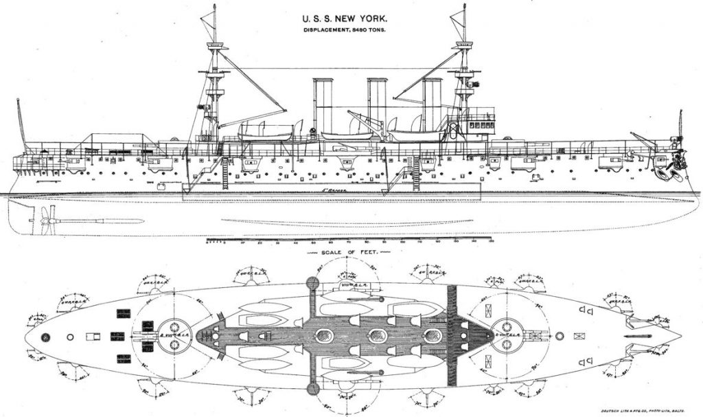 Subic Wreck USS New York (ACR-2)