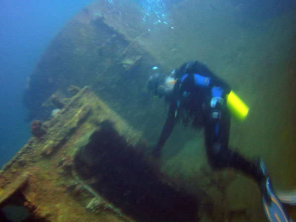 Landing Craft Utility Subic Bay Wreck