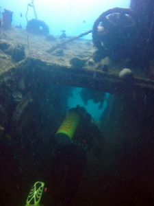 Subic Bay Philippines Landing Craft Utility Wreck
