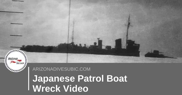 Japanese Patrol Boat Wreck Video Upload…