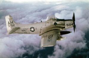 Subic Bay Douglas Skyraider wreck