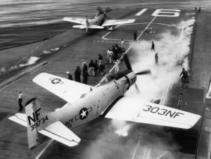 Skyraider USS Lexington CV-16