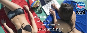 Start your PADI Divemaster course with eLearning!