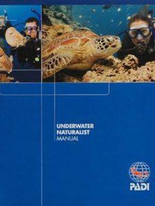 PADI Underwater Naturalist Manual