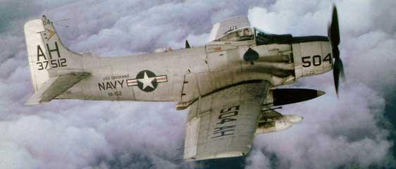 Douglas Skyraider Wreck