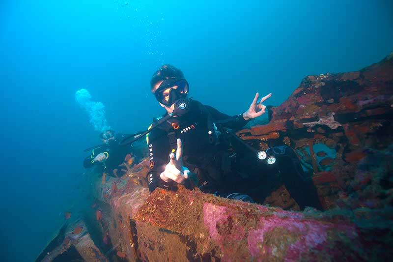 McDonnell Douglas F-4 Phantom II Wreck Subic Bay Philippines