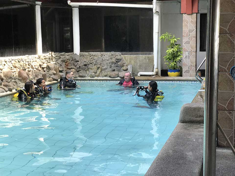 Dive Courses in Subic Bay Philippines