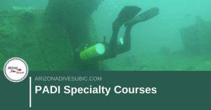 PADI Specialty Courses