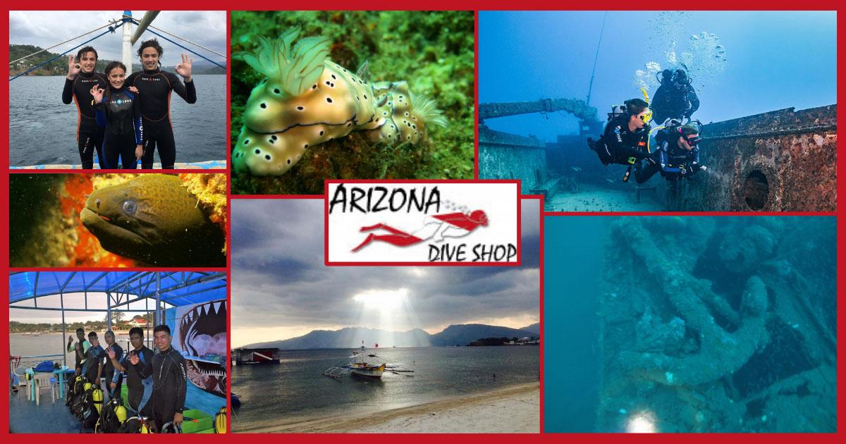Scuba Diving Philippines   Arizona Dive Shop Subic Bay